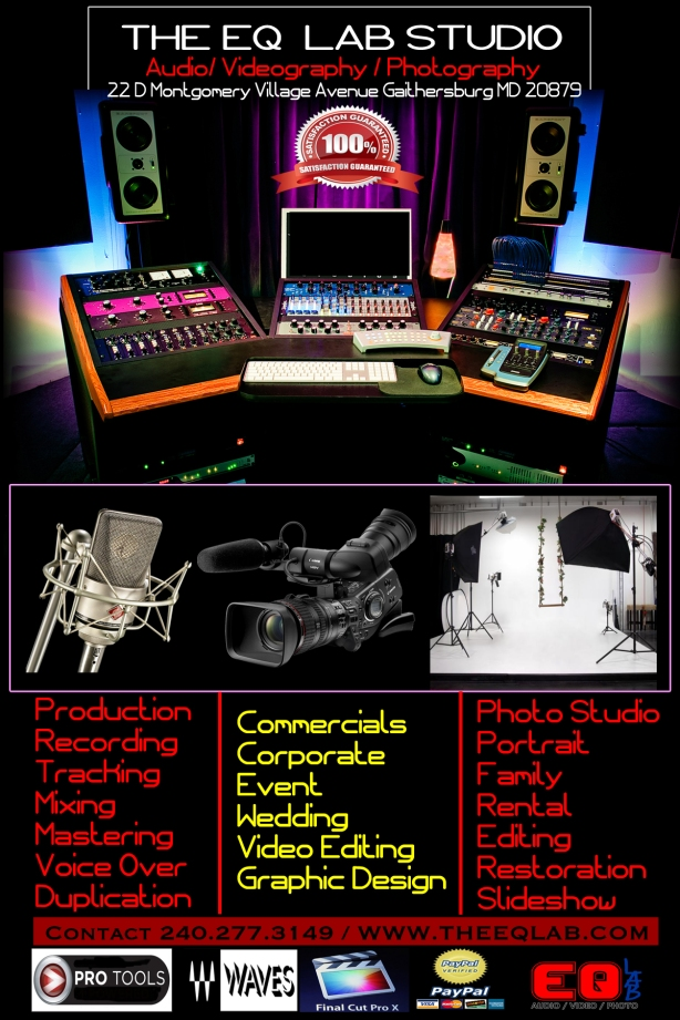 OFFICIAL NEW STUDIO FLYER FRONT